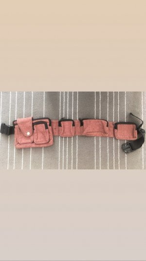 Bumbag bright red