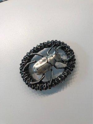 Fibbia per cinture argento