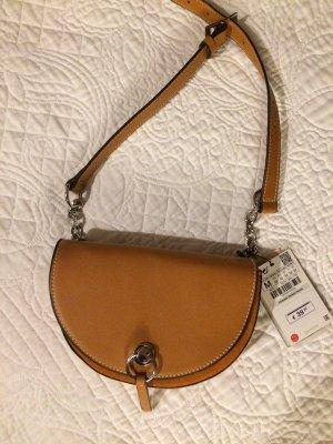 Zara Bumbag cognac-coloured-brown leather