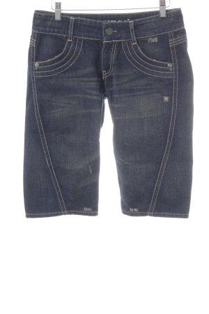 Guess Jeans a 3/4 blu scuro stile casual
