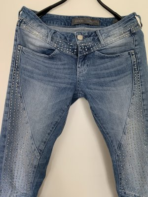 Guess Skinny jeans korenblauw-zilver
