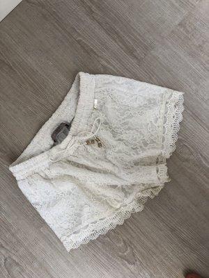 Guess Pantalón corto blanco