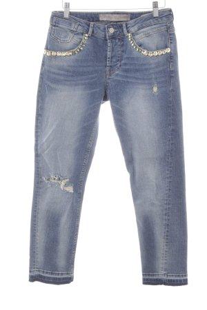 Guess 7/8 Jeans blau Used-Optik
