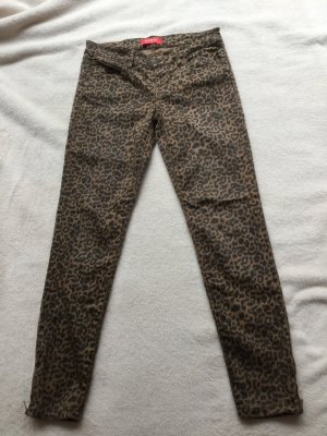 Guess 7/8 Length Trousers bronze-colored-black