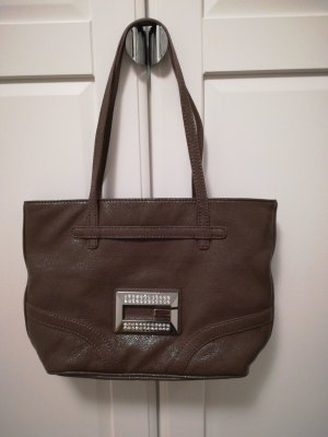 Guess Sac à main gris brun