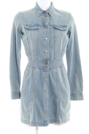 Guess A-Linien Kleid blassblau Casual-Look