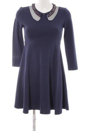 Guess A-Linien Kleid blau Elegant