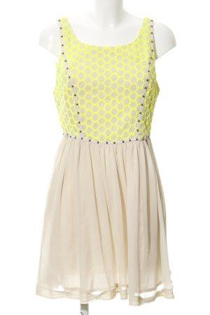 Guess A-Linien Kleid Lochstrickmuster Elegant
