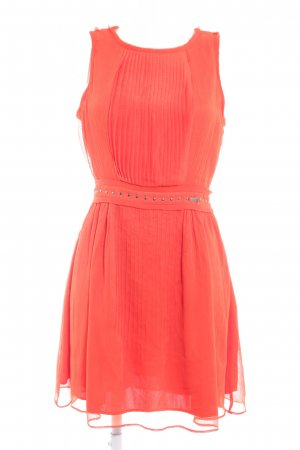 Guess Vestido de noche naranja oscuro estilo fiesta