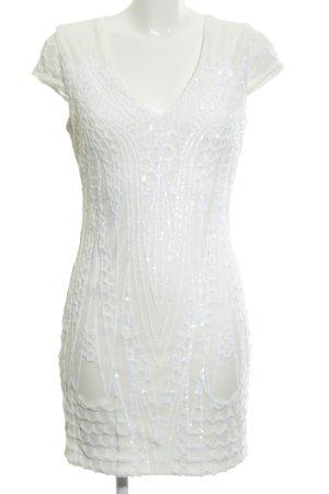 Guess Robe de soirée blanc élégant