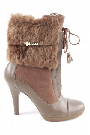 Guess Heel Boots bronze-colored-brown casual look