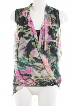 Guess Sleeveless Blouse flower pattern casual look