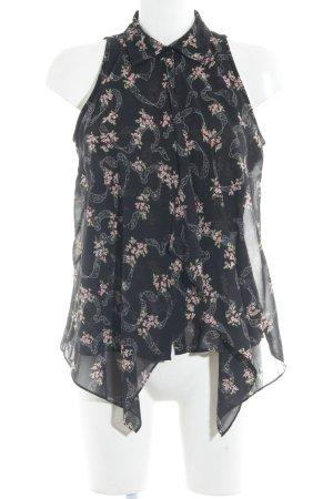 Guess ärmellose Bluse Blumenmuster Casual-Look