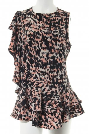 Guess Sleeveless Blouse black-nude abstract pattern business style