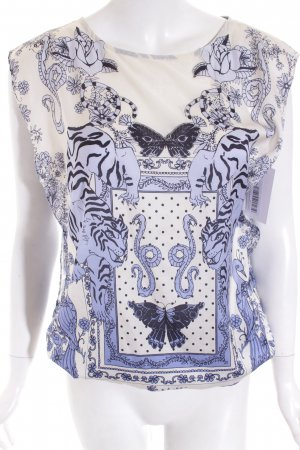 Guess ärmellose Bluse florales Muster Casual-Look