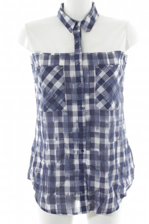 Guess ärmellose Bluse Karomuster Casual-Look