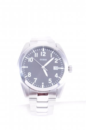 Guess Analog Watch silver-colored-black casual look