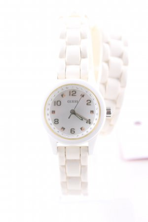Guess Montre analogue blanc style mode des rues