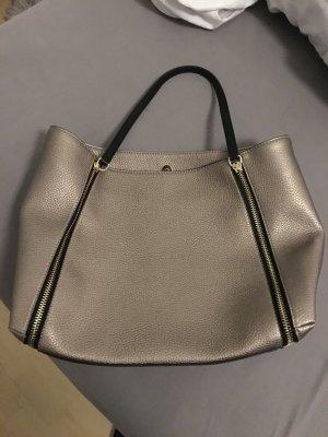 Guess Angie Tote Bag Gold Metallic, neu
