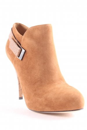 """Guess Ankle Boots """"Ankle Boot Suede Cognac"""" hellbraun"""