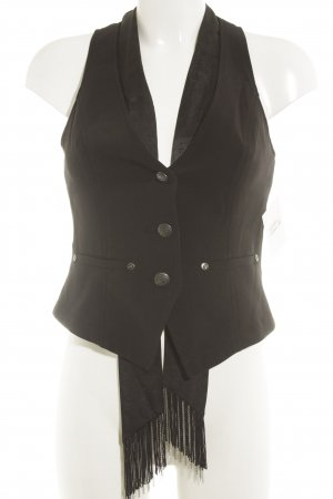 Guess Gilet nero stile rockabilly