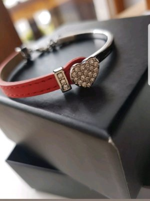 Guess Bracelet silver-colored-red