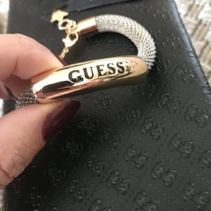 Guess Armband zilver-goud