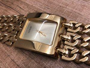 Guess Montre avec bracelet métallique doré