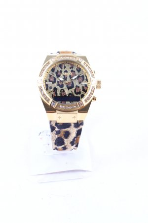 Guess Self-Winding Watch leopard pattern extravagant style