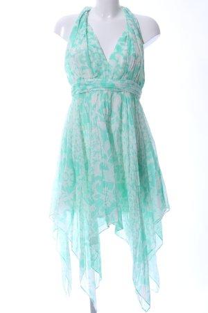 Guess Babydoll-jurk turkoois-wolwit volledige print elegant