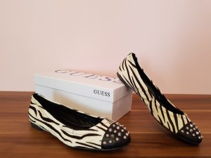 GUESS Ballerinas *Zebra aus Ponyfell