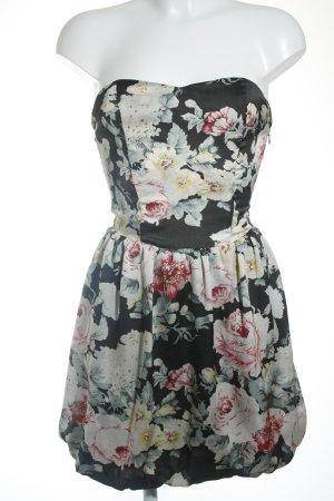 Guess Vestido bandeau estampado floral elegante