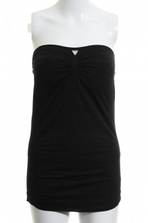 Guess Top bandeau negro look casual