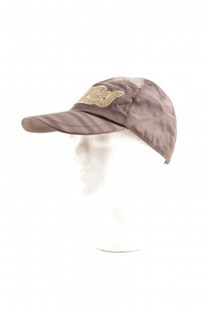 Guess Baseball Cap gold-colored-brown embroidered lettering college style