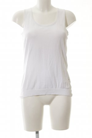 Guess Basic Top weiß Casual-Look