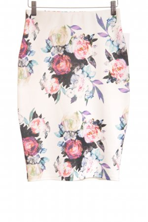 Guess Bleistiftrock florales Muster Casual-Look