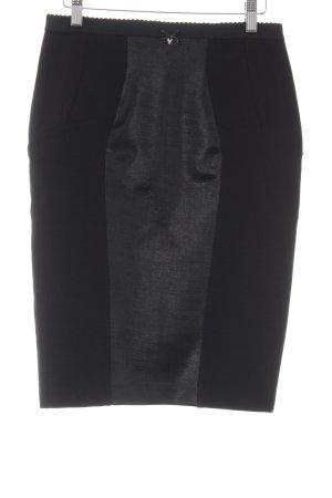 Guess Falda de tubo negro-taupe elegante