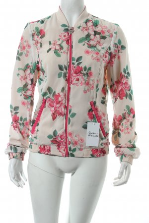 Guess Blouson florales Muster Street-Fashion-Look