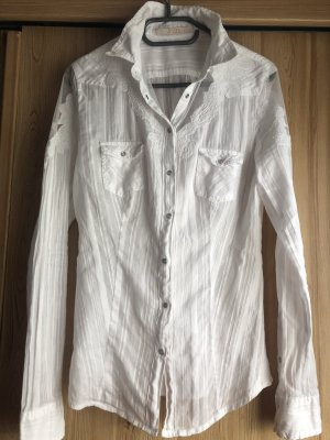 Guess Blouse-chemisier blanc
