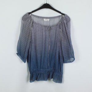 Guess Bluse Gr. S lila blau gemustert transparent (19/03/243)