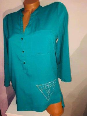 Guess Bluse Hemd Tunika in gr 40 Farbe Smaragd