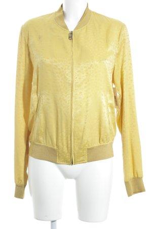 Guess Giacca a blusa giallo-giallo scuro motivo animale stile minimalista
