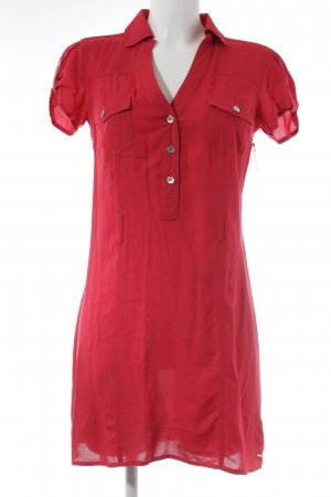 Guess Blusenkleid rot Casual-Look