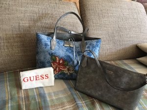 Guess Shopper azure-silver-colored