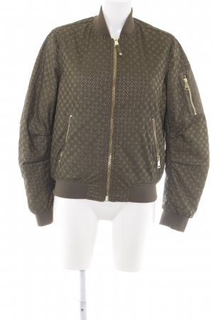 Guess Bomberjacke khaki Street-Fashion-Look