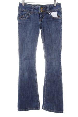 Guess Boot Cut Jeans blau Casual-Look