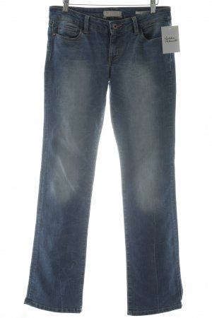 Guess Boot Cut Jeans blau Casual-Look