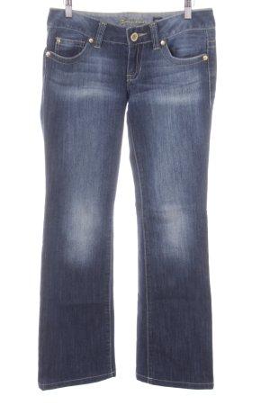 Guess Boot Cut Jeans dunkelblau Street-Fashion-Look