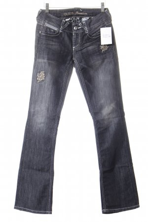 Guess Boot Cut Jeans grau Casual-Look