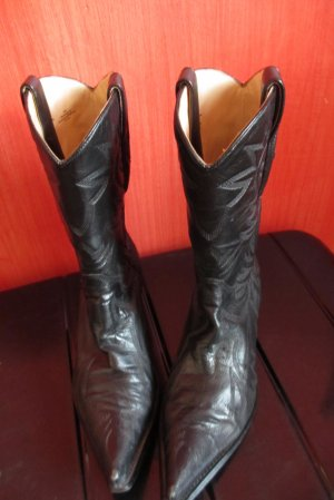 Guess Desert Boots black leather
